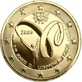 Portugali 2009 2 € Lusophony Games KULLATTU