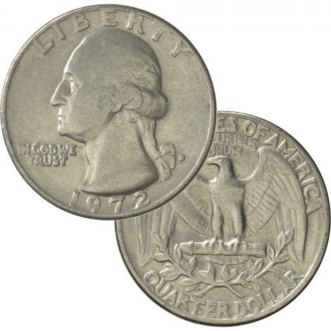 USA Seka vuosi Quarter CIRC