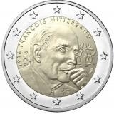 Ranska 2016 2 € Francois Mitterrand UNC