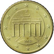 Saksa 2002 10 c A UNC