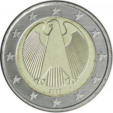 Saksa 2002 2 € F UNC