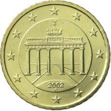 Saksa 2002 50 c G UNC