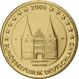 Saksa 2006 2 € Holstentor KULLATTU