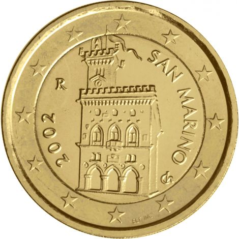 San Marino 2002 2 € KULLATTU