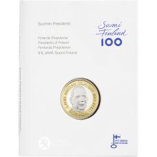 Suomi 2016 5 €  Suomen presidentit - L.K. Relander PROOF
