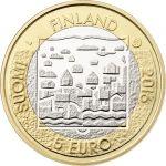 Suomi 2016 5 € Suomen presidentit - L.K. Relander UNC