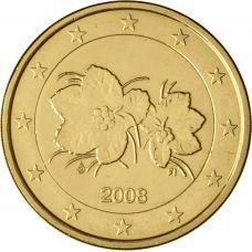 Suomi 2008 2 € KULLATTU