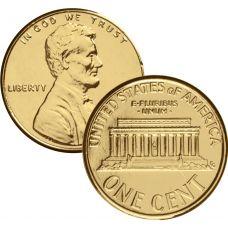 USA 1998 $0,01 Lincoln Memorial KULLATTU