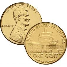 USA 2009 $0,01 Lincoln Bicentennial - Presidency in DC KULLATTU