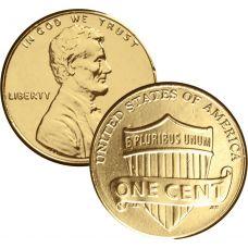 USA 2010 $0,01 Lincoln - Union Shield KULLATTU