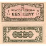 Alankomaiden Itä-Intia 1942 1 Cent P119b UNC