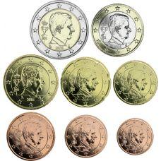 Belgia 2015 1 c - 2 € Irtokolikot UNC