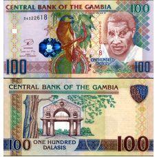 Gambia 2013 100 Dalasis P29c UNC