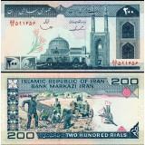 Iran 1982 200 Rials P136b UNC