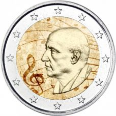 Kreikka 2016 2 € Dimitri Mitropoulos VÄRITETTY