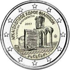 Kreikka 2017 2 € Filippoi UNC