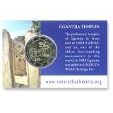 Malta 2016 2 € Ggantijan temppelit COINCARD