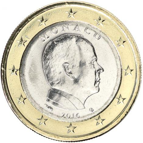 Monaco 2018 1 € UNC