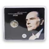 Ranska 2016 2 € Francois Mitterrand COINCARD