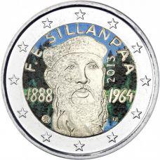 Suomi 2013 2 € F.E. Sillanpään syntymästä 125 vuotta #2 VÄRITETTY
