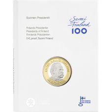 Suomi 2016 5 € Suomen presidentit - Kyösti Kallio PROOF