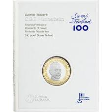Suomi 2017 5 € Suomen presidentit - C.G.E. Mannerheim PROOF