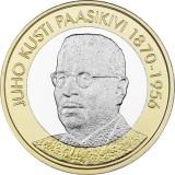 Suomi 2017 5 € Suomen presidentit - J.K. Paasikivi UNC