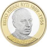 Suomi 2017 5 € Suomen presidentit - Risto Ryti UNC