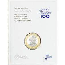 Suomi 2017 5 € Suomen presidentit - U.K. Kekkonen PROOF