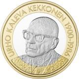 Suomi 2017 5 € Suomen presidentit - U.K. Kekkonen UNC