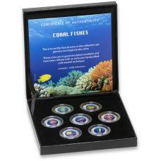 Värikolikkosarja 2013 Coral Fishes