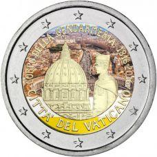 Vatikaani 2016 2 € Santarmi 200 vuotisjuhla VÄRITETTY