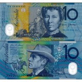 Australia 2008 10 Dollars P58e UNC
