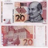 Kroatia 2012 20 Kuna P39b UNC