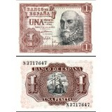 Espanja 1953 1 Peseta P144a UNC
