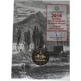 Kreikka 2016 2 € Arkadin luostari COINCARD