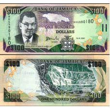 Jamaika 2007 100 Dollars P84c UNC
