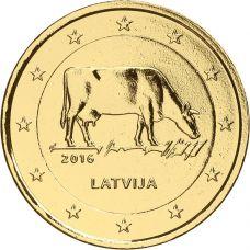 Latvia 2016 2 € Maatalousala KULLATTU
