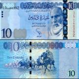 Libya 2015 10 Dinars P78 UNC