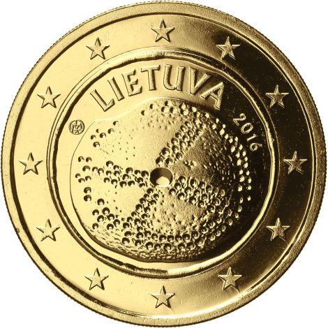 Liettua 2016 2 € Baltian kulttuuri KULLATTU