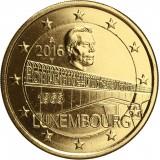 Luxemburg 2016 2 € Suurherttuatar Charlotte -sillan 50. vuotispäivä KULLATTU