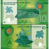 Nicaragua 2014 10 Cordobas P210 UNC