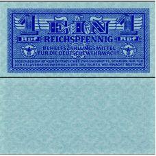 Saksa 1942 1 Reichspfennig P501a UNC