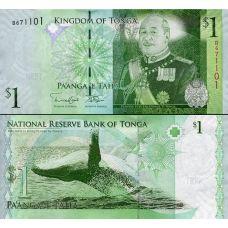 Tonga 2009 1 Pa'anga P37b UNC