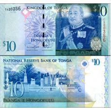 Tonga 2009 10 Pa'anga P40b UNC