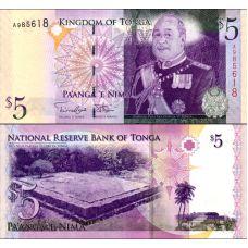 Tonga 2009 2 Pa'anga P39b UNC