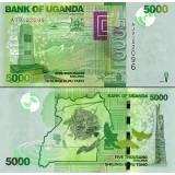 Uganda 2011 5000 Shilling P51b UNC