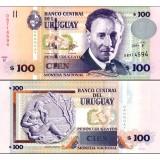 Uruguay 2011 100 Pesos Uruguayos P88b UNC