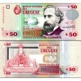 Uruguay 2011 50 Pesos Uruguayos P87b UNC