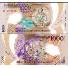 Vanuatu 2014 1000 Vatua P15 UNC